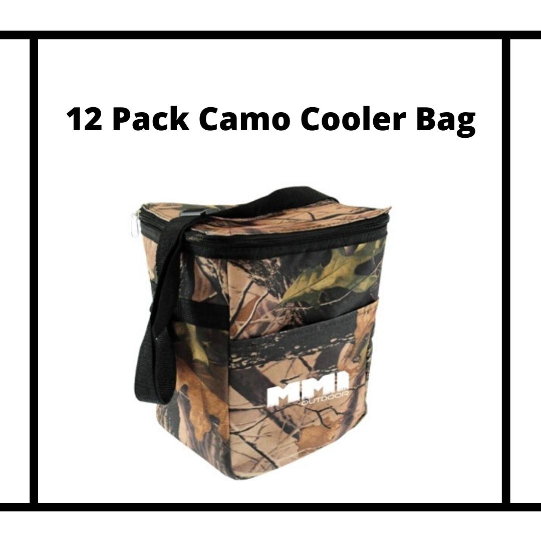 Camo Cooler Bag With Logo
