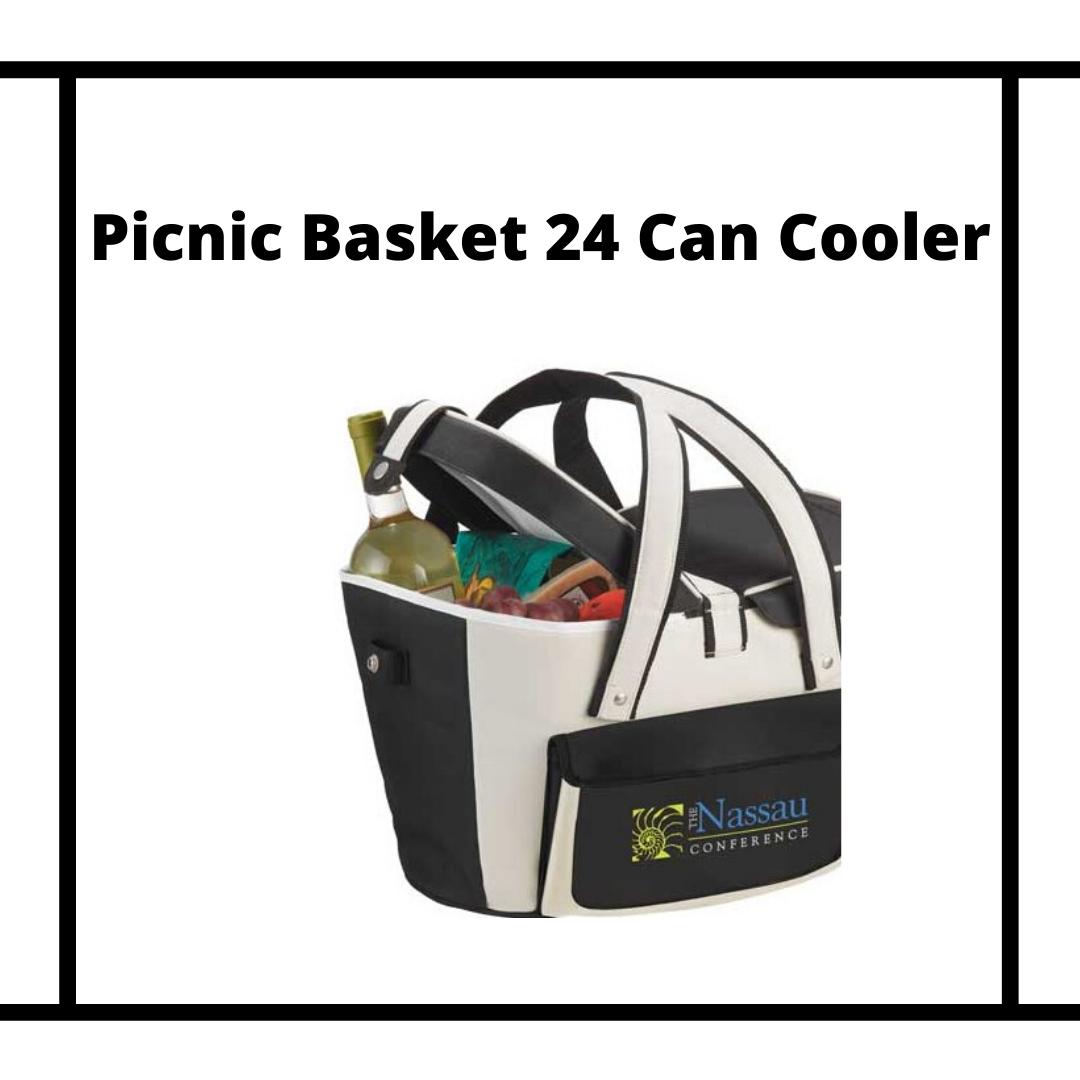 Corporate Picnic Basket Cooler
