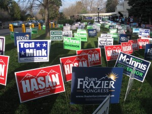 Political Campaigns Should Only Use Made in the USA Signs and Bumper Stickers