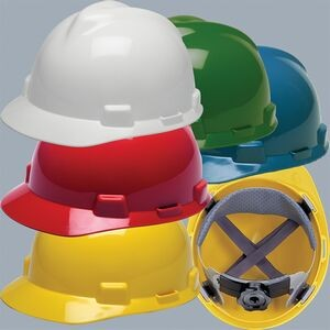 Custom Printed Hard Hats Available