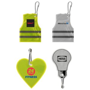 Promotional Reflective Safety Tags