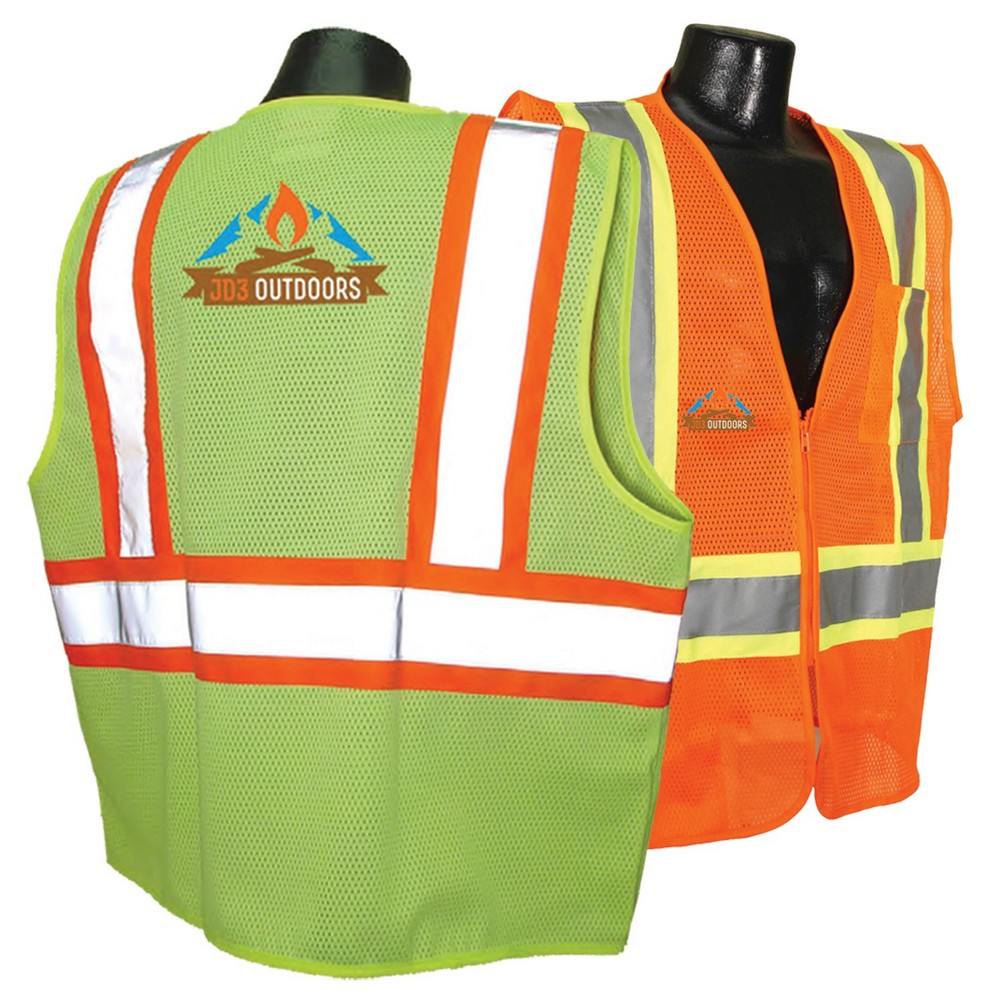 Promotional Class 2 Safety Vest Keeps Workers Well Protected on The Job